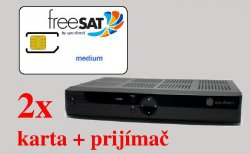 2x freeSAT medium 11,75€/mesačne