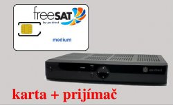 freeSAT medium 11,75€/mesačne